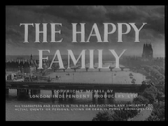 The Happy Family 1952 DVD - Stanley Holloway